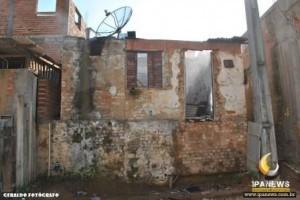 Ipanema: Casa de homem preso por homicídio é incendiada