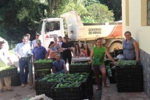Manhuaçu: Programa do PAA beneficia 59 famílias