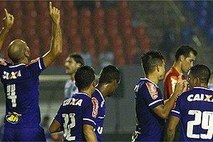 Cruzeiro vence o Londrina pela Copa do Brasil