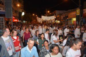 Corpus Christi em Manhuaçu. Vejas as fotos