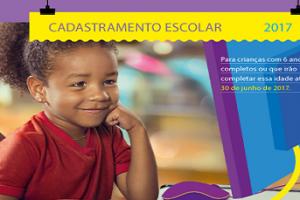 Cadastro escolar começa nesta segunda em Manhuaçu