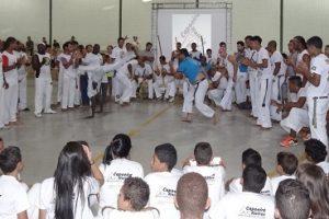 Luisburgo: Encontro reúne capoeiristas de quinze cidades