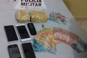 Moradores de Manhuaçu detidos com drogas em Valadares