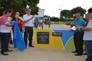 Praça de esportes é inaugurada no São Francisco de Assis