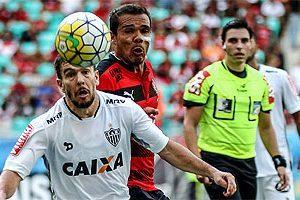 Atlético empata em Salvador