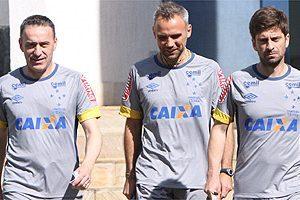 Paulo Bento comanda primeiro treino no Cruzeiro