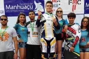 Copa Brasil de BMX em Manhuaçu tem atleta mineiro no pódio