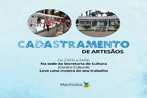 Novos artesões serão cadastrados em Manhuaçu