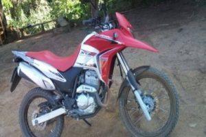 Orizânia: Motocicleta é roubada