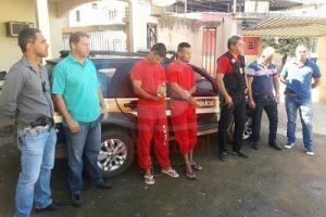PM detém suspeitos de duplo homicídio em Inhapim