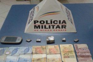 PM apreende menor e drogas na Vilanova. Dois maiores presos