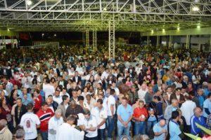 Terço dos homens reúne cerca de 4 mil participantes em Manhuaçu. Veja as fotos
