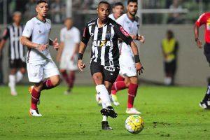 Atlético empata em casa com o Fluminense