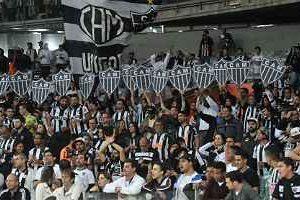 Atlético vence o Corinthians em casa