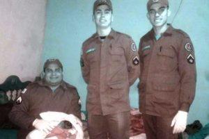 Bombeiros fazem parto em Manhuaçu. Atendimento pela madrugada