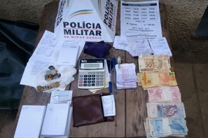 PM prende envolvidos com o tráfico de drogas