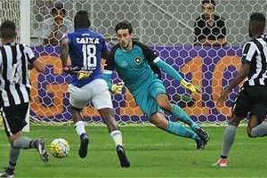 Cruzeiro vence o Botafogo em Brasília