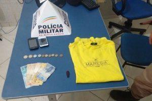 Jovem flagrado durante assalto é preso na Vilanova