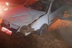 PM de Mutum localiza Parati roubada de taxista. Ladrão é preso