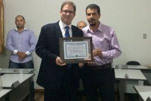 Presidente da OAB Manhuaçu recebe título de Cidadão Conceiçãoense