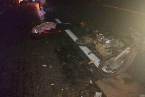 Orizânia: Motoqueiro morre após bater em caminhão