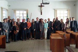 Presidente da OAB Manhuaçu se reúne com nova juíza de Lajinha