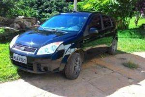 Fiesta roubado em Ipanema é encontrado em Taparuba