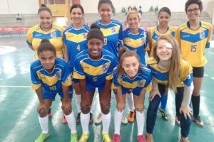 Futsal Feminino de Manhuaçu é vice-campeão nos Jogos de Minas