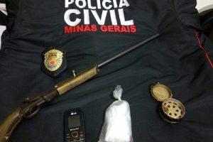 Polícia Civil prende acusados de roubos em São Pedro do Avaí