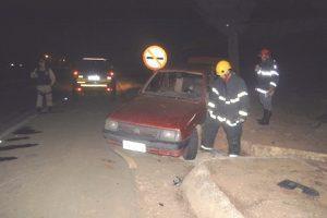 Colisão deixa 4 feridos em acidente na BR 262