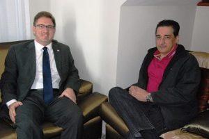 Presidente da OAB Manhuaçu se reúne com deputado estadual João Magalhães