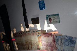 Divino: Homem embriagado é preso por tráfico de drogas