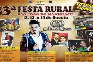 Festa Rural começa dia 12 em São do Manhuaçu