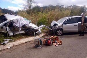 Acidente com uma vítima fatal em Imbé de Minas