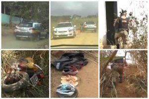 Santa Bárbara do Leste: Bandidos assaltam e são perseguidos pela PM