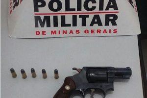 PM prende suspeito de roubo. Motocicleta de Manhuaçu