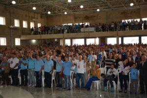 Terço dos Homens participa de encontro em Itabira. Veja as fotos