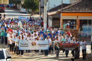 Terço dos Homens de Simonésia celebra 6º aniversário