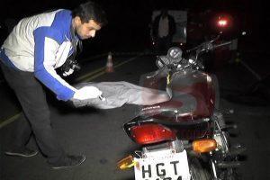 Motociclista morre em colisão com égua na estrada de Raul Soares