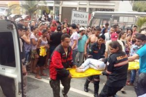 Criança é atropelada em Santa Rita de Minas