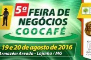 Feira de Negócios da Coocafé começa nesta quinta-feira