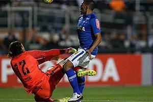 Cruzeiro empata contra o Corinthians