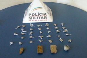 Ipanema: PM apreende maconha e cocaína com menor de 14 anos
