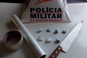 Casa vira ponto de drogas em Carangola