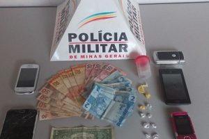 Jovens presos com drogas em Carangola