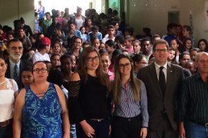 Durandé recebe etapa do projeto OAB vai à Escola