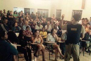 PM se reúne com moradores de Padre Fialho, em Matipó