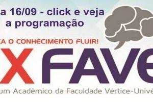 IX FAVE – Fórum Acadêmico da Univértix