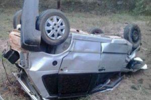 Motorista de Uno morre após capotamento em Lajinha