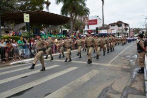 7 de setembro em Manhuaçu. Veja as fotos